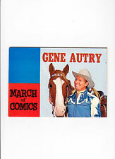 March Of Comics No.135  ::1955::  :: Gene Autry ::  :: Photo Cover! ::