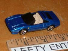 HOTWHEELS BLUE FERRARI 308 GTS SCALE 1/64 -LOOSE! - STOCK#2 - RARE!