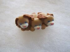 FISHER PRICE Loving Family Dollhouse BROWN PUPPIES ~ Puppy Dogs 3 in a Row
