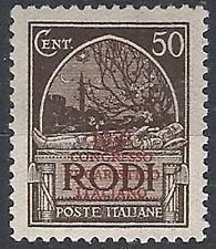 1931 EGEO CONGRESSO EUCARISTICO 50 CENT MH * - RR12402