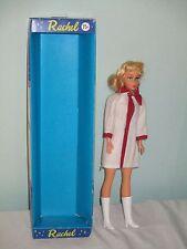 """RARE vintage Rachel bambola bionda. 11"""" IN SCATOLA CON CIGLIA. Barbie Sindy Clone"""
