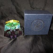 GREAT SEAL OF THE UNITED STATES   PAPERWEIGHT IWO JIMA VIETNAM MEMORIAL