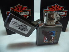 ZIPPO LIGHTER FEUERZEUG HARLEY DAVIDSON HD M 200 BURNISH DISCOUNT NEW