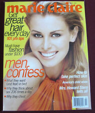(NEW) Marie Claire April 1997 Niki Taylor Cover, Perfect Condition Magazine