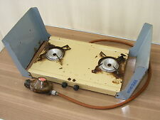 old tramp de luxe DDR Camping Stove Gas Cooker Double boiler Heating plate #3