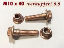 10 Stück Kupferschraube DIN EN ISO 4762 M6x30 10.9 hochfest stark verkupfert