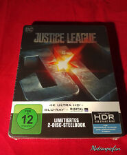 Justice League Embossed 4K UHD HDR Blu-Ray Steelbook, sold out, Region Free