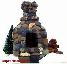 Dept. 56 Fieldstone Fireplace Retired 2003 General Village New 53010