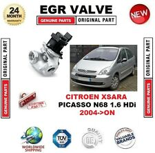 FOR CITROEN XSARA PICASSO N68 1.6 HDi 2004-ON EGR VALVE 5-PIN with GASKETS/SEALS