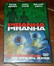 Piranha Piranha (DVD, 2004) Peter Brown/Anna Capri/William Smith!