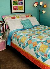 Jelly Beans Quilt Pattern Pieced NM