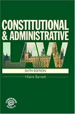New, Constitutional and Administrative Law, Hilaire Barnett, Book