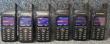Motorola Sl7550 Uhf Digital Dmr Mototrbo Set Of 6 Radios 430 470 Good 1 4 Sets