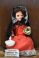 Fabulous VINTAGE Costume Doll of Traditional Dress Guernsey Woman - 18cm Tall
