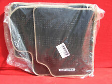 LAND ROVER DISCOVERY SPORT L550 CARPET FLOOR MATS GENUINE OEM NEW BLACK/TAN