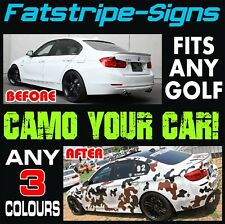 VW Golf Camouflage graphique autocollants rayures autocollants Volkswagen V DUB GTI R32 2.0 D