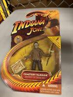 Indiana Jones Action Figure 2008 Series - Cemetery Warrior - Brand New - MOC