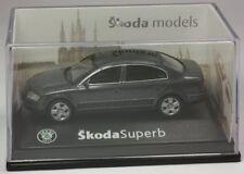 Abrex Skoda Superb Limo dunkelgraumetallic Modellauto 1:72 OVP ST 9903-80-93