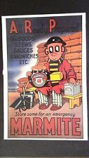 CPM STORE SOME FOR AN EMERGENCY MARMITE. (reproduction d'ancien)