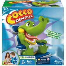 COCCO DENTISTA COCCODENTISTA crocodile dentist B0408103 Hasbro -nuovo-Italia