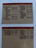 9x microfiche Mercedes-Benz W 124 Arbeitstexte und Arbeitswerte  10/1992