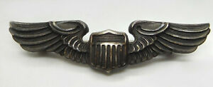Vintage Balfour Post WWII Sterling U.S. Air Force Pilot Wings- Lapel Pin
