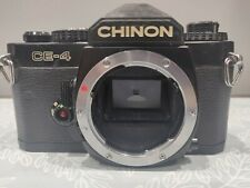 Chinon CE-4 35mm SLR Body With Power Winder Pentax Mount
