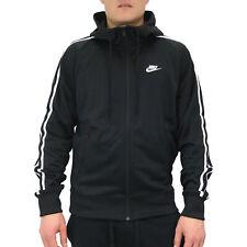 2fddaf7148c464 Nike Tribut Full Zip Hoodie Sweatshirtjacke Sportjacke Herren AR2242 010  Schwarz