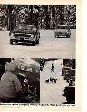 1968 CHEVY II VS VOLKSWAGEN 1600 ~ ORIGINAL 4-PAGE ARTICLE / AD