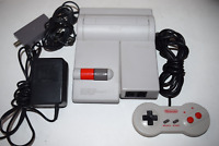 Nintendo NES Top Loader Console Video Game System Complete
