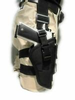 "TACTICAL DROP LEG THIGH HOLSTER WITH MAGAZINE CARRIE FOR COLT 45,1911 W/5"" BBL"