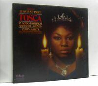 MEHTA, PRICE, DOMINGO, MILNES puccini tosca 2X LP BOX SET EX- ARL 2-0105, vinyl,