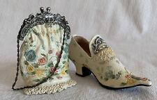 Nostalgia Popular Imports miniature shoe with matching purse