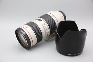 Canon EF 70-200mm f/2.8 L USM Objektiv aus 2015 - 12 Monate Gewährleistung