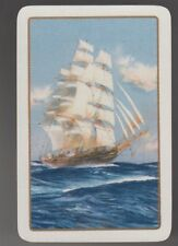Playing Swap Cards  GENUINE 1 single only English Named CUTTY SARK SAILING SHIP
