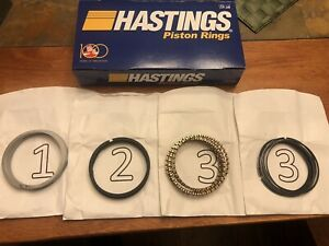 AMC Hudson 6cyl Hastings Piston Rings (New)
