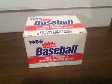 1986 Fleer Update Baseball Set Bonds Rookie Card