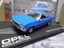 OPEL Commodore B GS/E Coupe blau blue 1972 - 1977 IXO altaya Sonderpreis 1:43