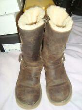 UGG Australia UK 4 US 5  Sheepskin Kensington Leather Biker Boots RRP £219.99