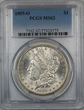 1885-O Morgan Silver Dollar $1 Coin PCGS MS-62 (7H)