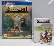 NI NO KUNI 2 REVENANT KINGDOM PRINCE EDITION FIGURE CHIBI PS4 NEW SEALED