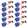 10XMicro SG90 Servo Motor 9G For RC Helicopter Airplane For Arduino Control Min