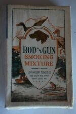 New listing Empty Box of Rod And Gun Smoking Mixture John Weisert Tobacco Co. with Dog Duck