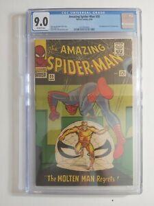 Amazing Spiderman #35 CGC 9.0 Ditko Stan Lee Near Mint Vintage Classic!