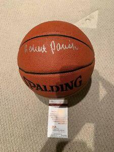 Robert Parish Signed Basketball JSA COA Boston Celtics