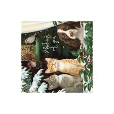 Family and Friends Christmas Greeting Card & Envelope by Tree Free