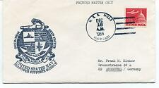 1966 US Navy Deep Freeze Seapower Supports Science Task Force Mills Polar Cover
