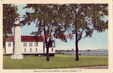 1942 ROWING CLUB, LACHINE WHARF, LACHINE, QUEBEC