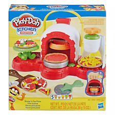 Play-Doh Stamp 'n Top Pizza Oven Toy with 5 Non-Toxic Play-Doh Colors