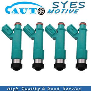 23250-28080 4X Fuel injectors For Toyota Corolla RAV4 Camry Scion Solara 2.4L
